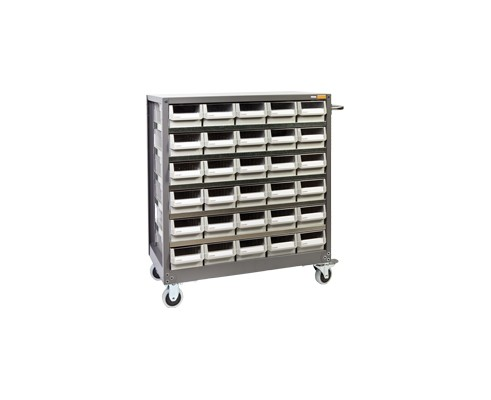 Steel Plate Parts Cabinet