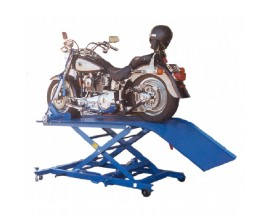 Air Hydraulic Motorcycle Lift